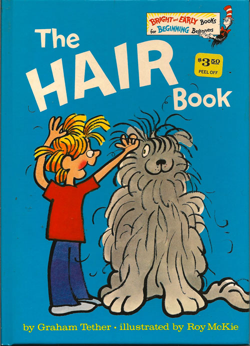 The Hair Book Graham Tether First Edition