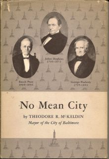 No Mean City. THEODORE R. MCKELDIN.