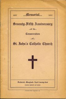Seventy-Fifth Anniversary Of The Consecration Of St. John's Catholic Church