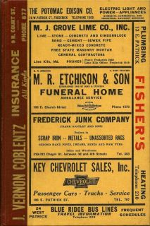 Frederick City Directory for 1948