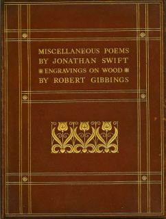Miscellaneous Poems. JONATHAN SWIFT.