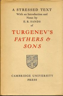 Fathers and Sons. I. S. TURGENEV