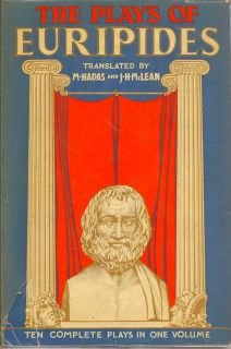 The Plays of Euripides. EURIPIDES.