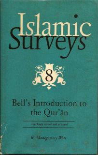 Islamic Surveys 8. W. MONTGOMERY WATT