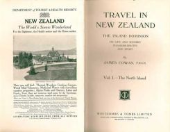 Travel In New Zealand, The Island Dominion. It's Life and Scenery Pleasure-Routes And Sport....