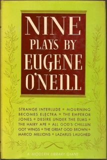 Nine Plays. EUGENE O'NEILL