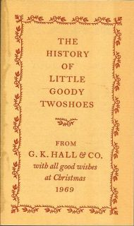 The History Of Little Goody Twoshoes