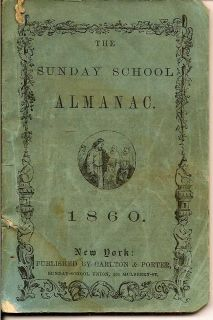 The Sunday School Almanac