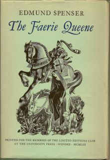The Faerie Queene. EDMUND SPENSER.