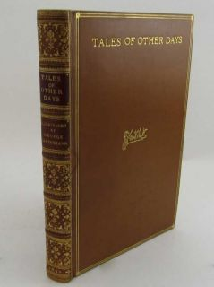 Tales Of Other Days. J Y. A., JOHN YONGE AKERMAN.