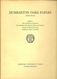 Dumbarton Oaks Papers Number Eleven