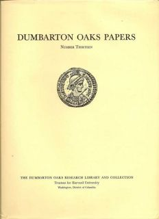 Dumbarton Oaks Papers Number Thirteen