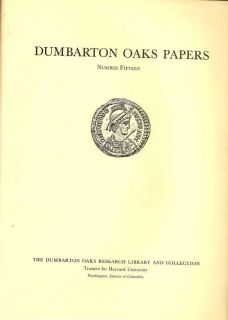 Dumbarton Oaks Papers Number Fifteen