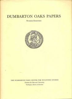 Dumbarton Oaks Papers Number Eighteen