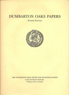 Dumbarton Oaks Papers Number Nineteen
