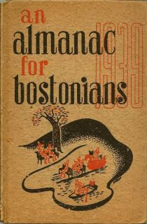An Almanack For Bostonians 1939
