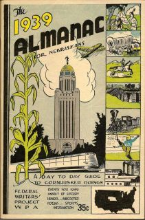 The 1939 Almanac For Nebraskans