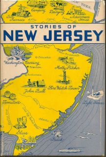 Stories Of New Jersey. Its SIgnificant Places, People And Activities