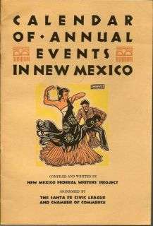 Calendar Of Annual Events In New Mexico