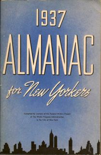 Almanac For New Yorkers 1937. †