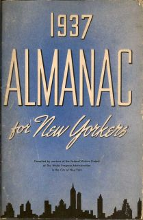 Almanac For New Yorkers 1937