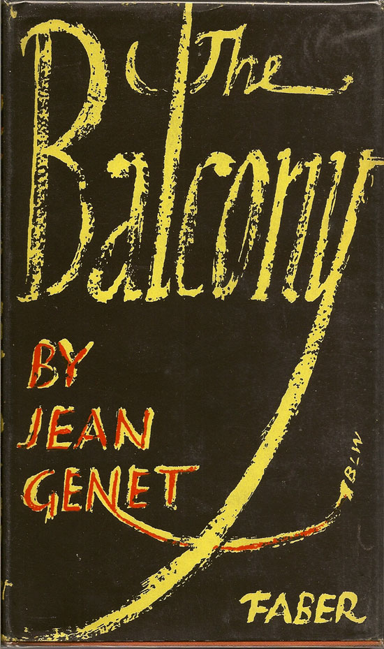 The Balcony. JEAN GENET