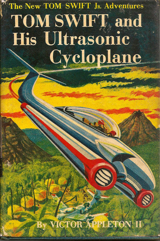 Tom Swift And His Ultrasonic Cycloplane. VICTOR APPLETON