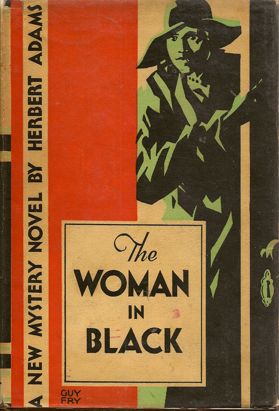 The Woman In Black. HERBERT ADAMS