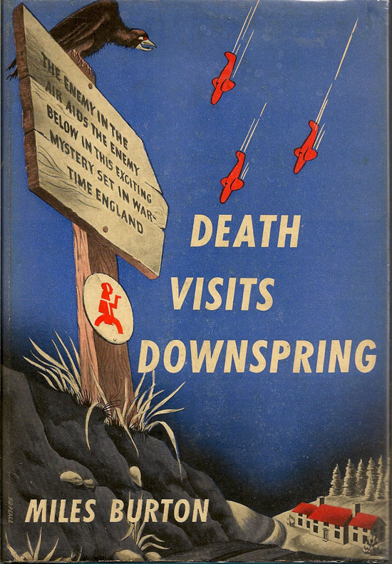 Death Visits Downspring. MILES BURTON.