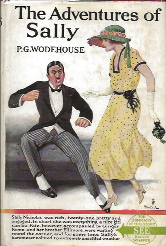 The Adventures Of Sally. P. G. WODEHOUSE.