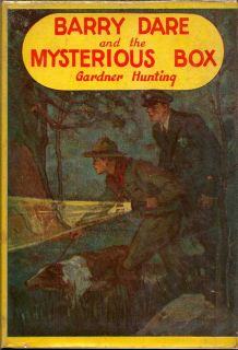 Barry Dare and the Mysterious Box. GARDNER HUNTING.