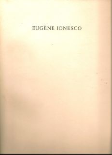 Journeys Among the Dead. EUGENE IONESCO